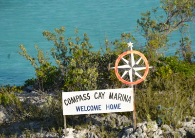 compass cay sign